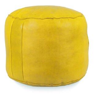 Tabouret Fez Leather Pouf