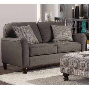 Red Barrel Studio Yoherlin Loveseat with Reversible Cushion