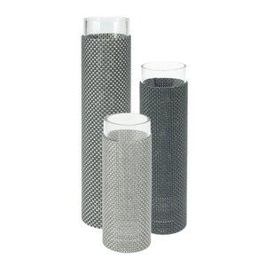 3-tlg. Vasen-Set Florah