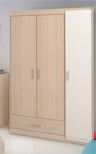 Maultsby 3 Door Wardrobe Armoire