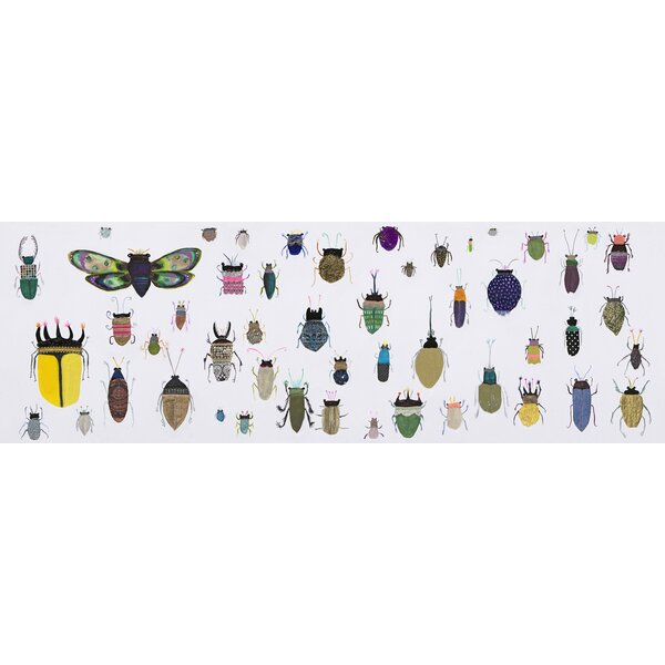 August Grove Insect Friends Detail By Eli Halpin Wrapped Canvas Print Wayfair