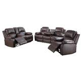 Paityn 3 Piece Reclinging Living Room Set by Red Barrel Studio