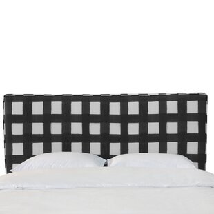 Terrio Box Seam Linen Upholstered Panel Headboard