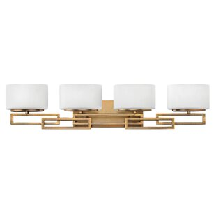 Ivy Bronx Goodner Modern 4-Light LED Vanity Light