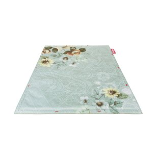 Step Non-Flying Blue Indoor/Outdoor Novelty Rug