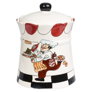 Chef Ceramic 2.35 qt. Cookie Jar