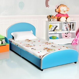 Brought Kids Twin Platform Bed by Zoomie Kids Reviews