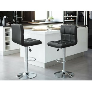 Adjustable Height Black Bar Stools Counter Stools You Ll Love In 2021 Wayfair