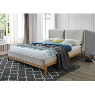 Dorian Upholstered Bed Frame By Hykkon