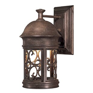 Great Outdoors by Minka Sage Ridge 1-Light Outdoor Sconce