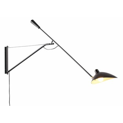 Rosiclare 1-Light Swing Arm Lamp Brayden Studio
