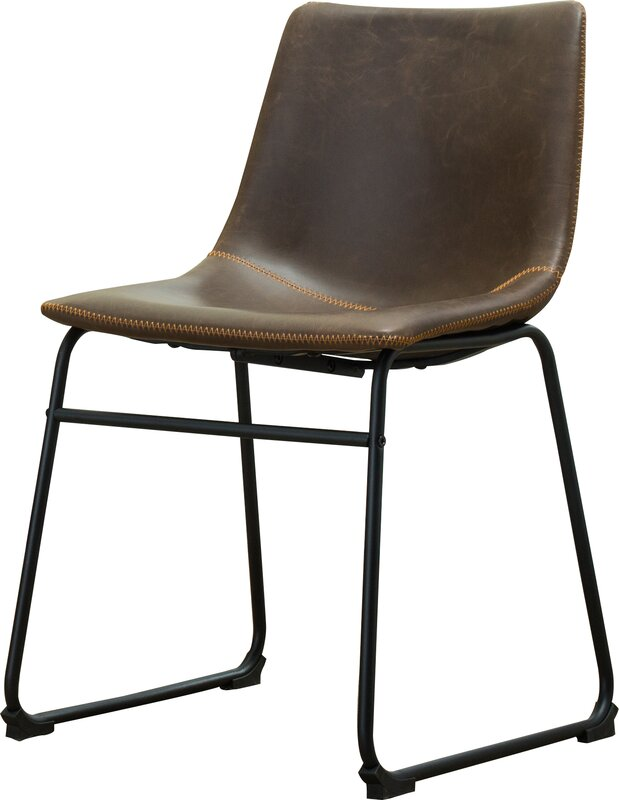 Side Chair bamey vintage side chairs reviews allmodern
