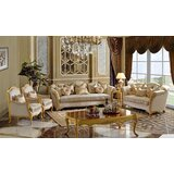 Cybulski Victorian 6 Piece Living Room Set by Rosdorf Park