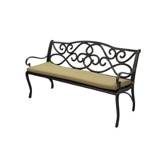 Darby Home Co Indoor/Outdoor Sunbrella Bench Cushion
