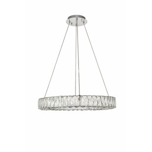 Compare Anessa LED Crystal Chandelier By Everly Quinn