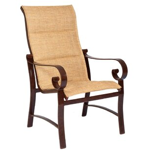 Belden High Back Patio Dining Chair (Set of 2)