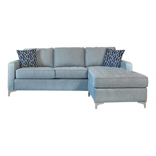 Zahoruiko 925 Reversible Sofa  Chaise with Ottoman by Orren Ellis