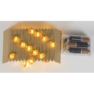 The Holiday Aisle Bat Pumpkin Try Me 30 Light String Lighting