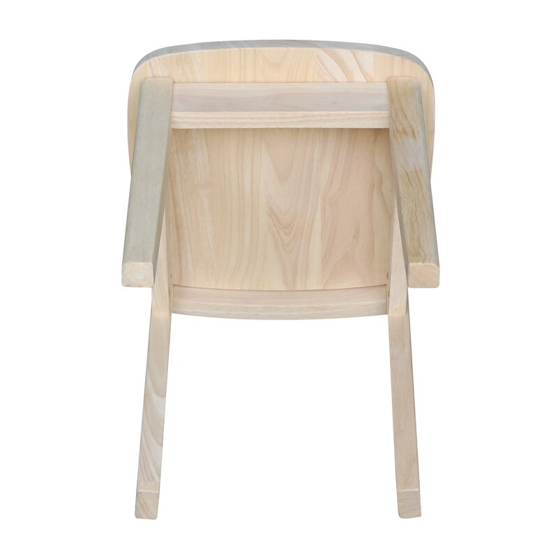 Severus Wood Ready To Finish Kids Desk Chair