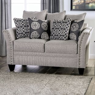Chasse Flared Arms Loveseat