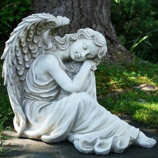 Northlight Seasonal Resting Angel Religious Outdoor Garden Statue