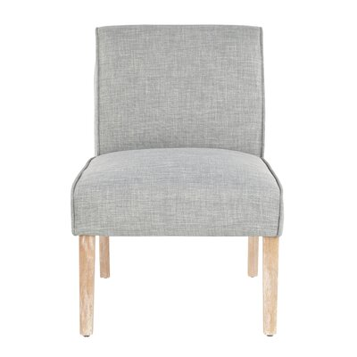 Natoma Slipper Chair Upholstery Color: Green by August Grove