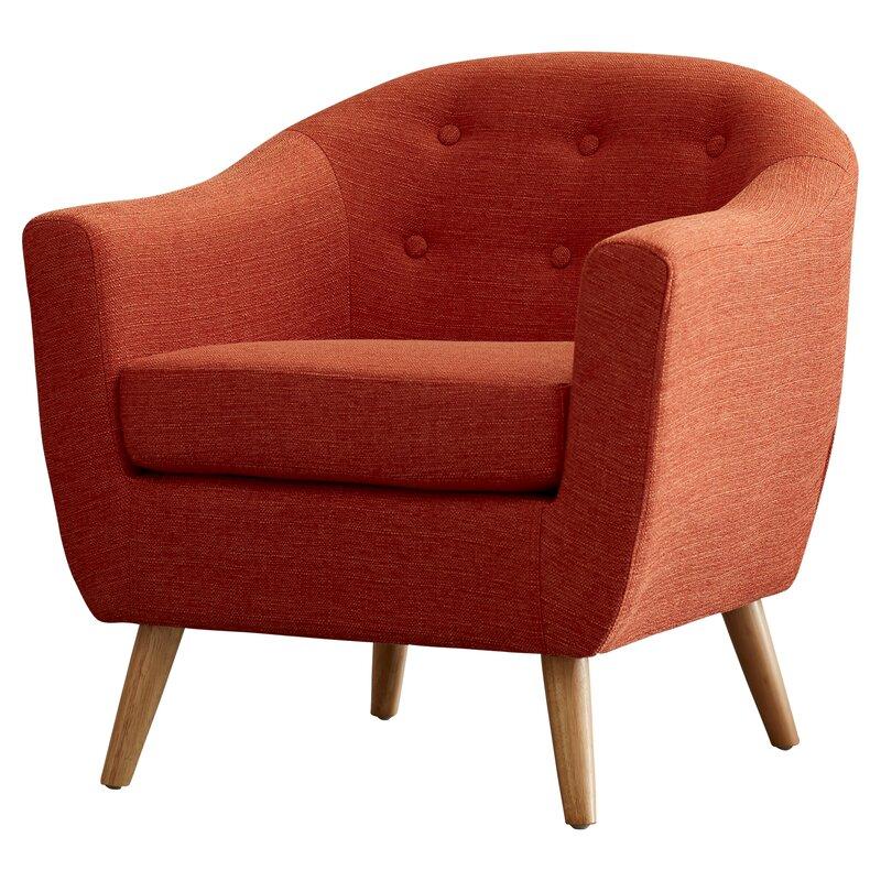 Langley Street Henley Barrel Chair Amp Reviews Wayfair
