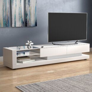 Purchase Bustillos TV Stand for TVs up to 78 by Wade Logan Reviews (2019) & Buyer's Guide