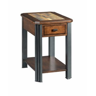 Juarez End Table with Storage by Union Rustic