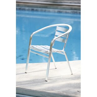 Renteria Stacking Patio Dining Chair (Set of 6)
