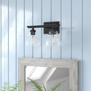 Compare prices Alene 2-Light Armed Sconce By Laurel Foundry Modern Farmhouse