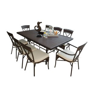 Panama Jack Outdoor Rum Cay 9 Piece Dinin..