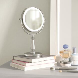 Gattis Glam LED Makeup Mirror By Three Posts