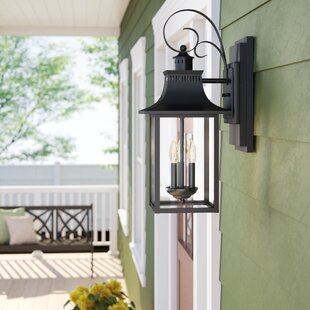 Caswell 3-Light Outdoor Wall Lantern by Sol 72 Outdoor 2019 Coupon