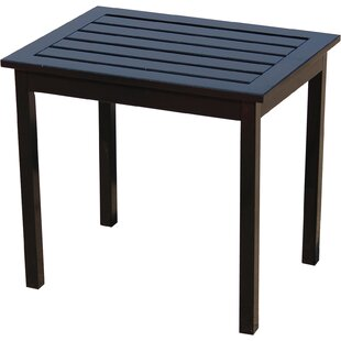 Rajesh Patio Solid Wood Side Table