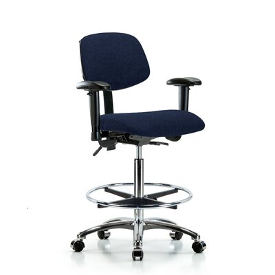 Pleasing Hermione Ergonomic Drafting Chair Symple Stuff Castersglides Ibusinesslaw Wood Chair Design Ideas Ibusinesslaworg