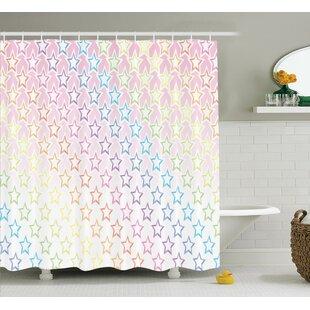 Jolene House Stars Shower Curtain