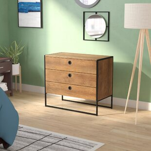 High-End Deshawn 3 Drawer Chest by Langley Street