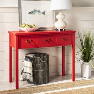Red Small (under 42 in.) Console Tables You\'ll Love in 2019 ...
