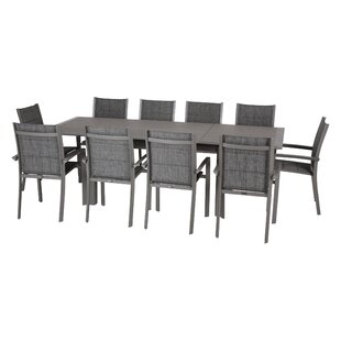 Kalem 10 Seater Dining Set By Sol 72 Outdoor