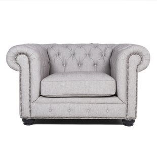 Espenson Chesterfield Chair by Rosdorf Park