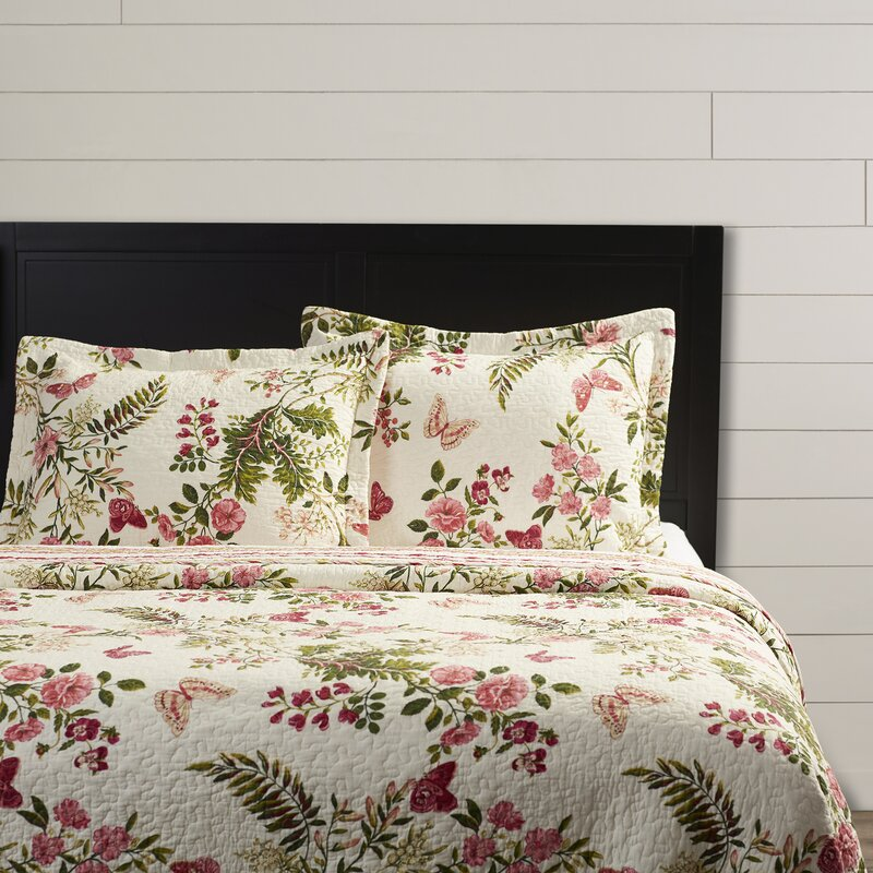 Annaelle Cotton Reversible Quilt Set