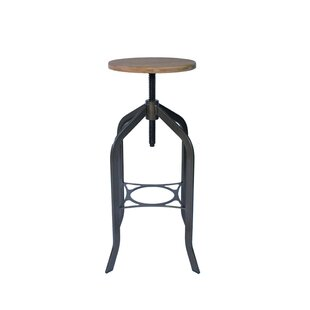 Hidalgo Swivel Height Adjustable Bar Stool By Borough Wharf