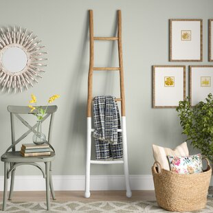 Wood 6 ft Blanket  Ladder by Laurel Foundry Modern Farmhouse