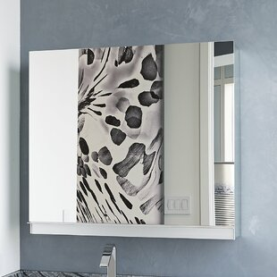 Read Reviews Uplift Series 30 x 27 Recessed or Surface Mount Medicine Cabinet By Robern
