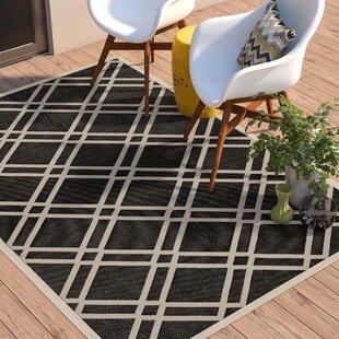Herefordshire Black/Beige Indoor/Outdoor Rug
