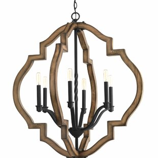 Loon Peak Jefferies 6-Light Foyer Pendant