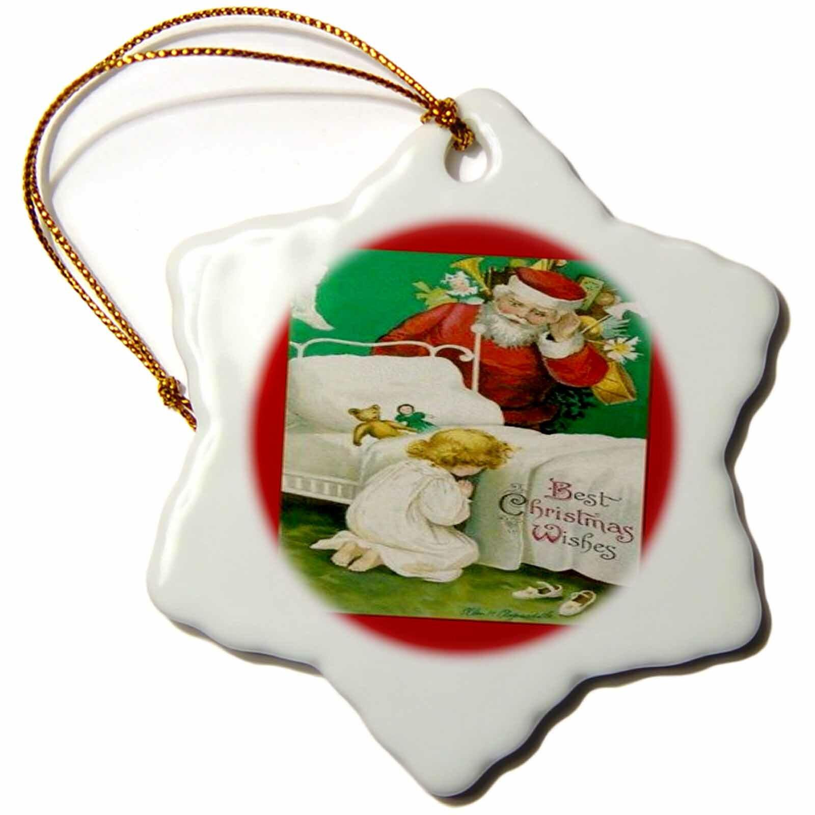 Santas Christmas Prayer Ornament