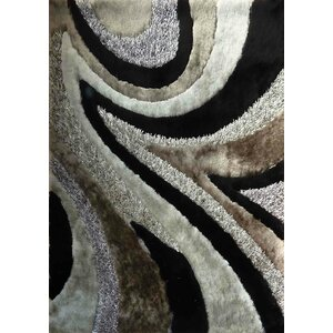 Hand-Tufted Gray/Black Area Rug