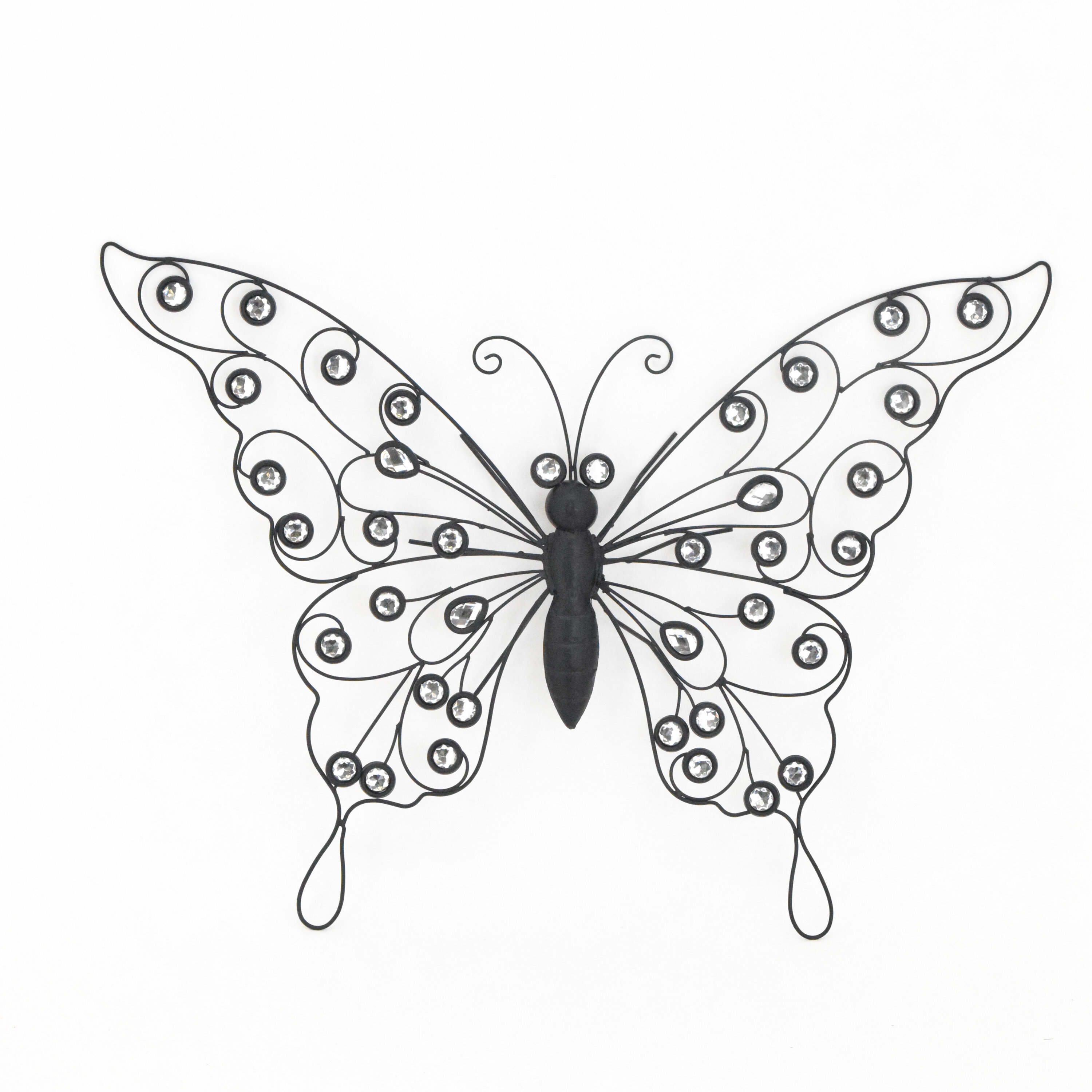 August Grove Hanging Butterfly Wall Decor